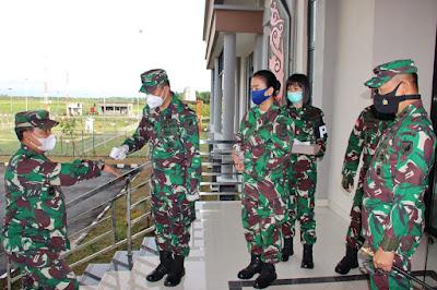 Pangdam XII/TPR Sambut Kunjungan Kerja Asops Kasad Di Khatulistiwa