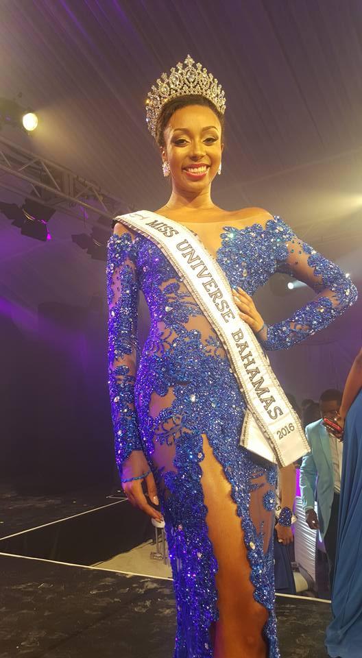 Eye For Beauty Miss Universe Bahamas 2016