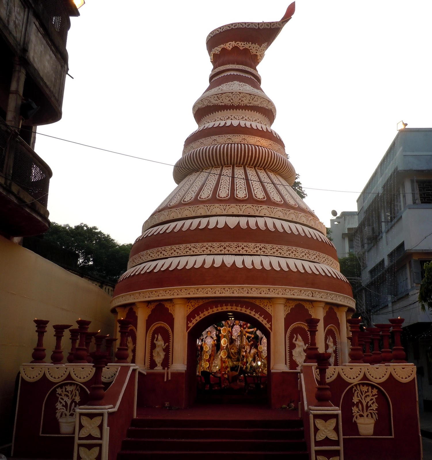 Just about everything durga puja pandals 2011 south kolkata simple creative durga pandal altavistaventures Choice Image