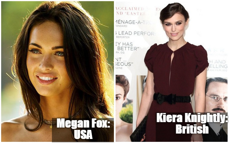 Megan Fox Vs Kiera Knightly