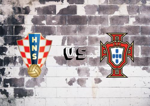Croacia vs Portugal  Resumen y Partido Completo