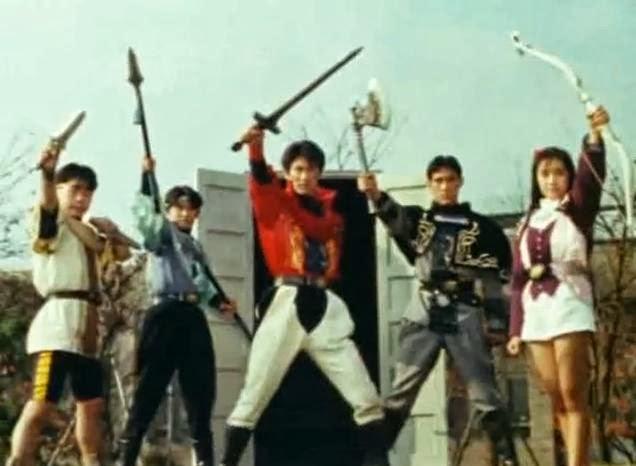 CCLemon99: TRIPLE TOP 7!!! Kyoryu Sentai Zyuranger!