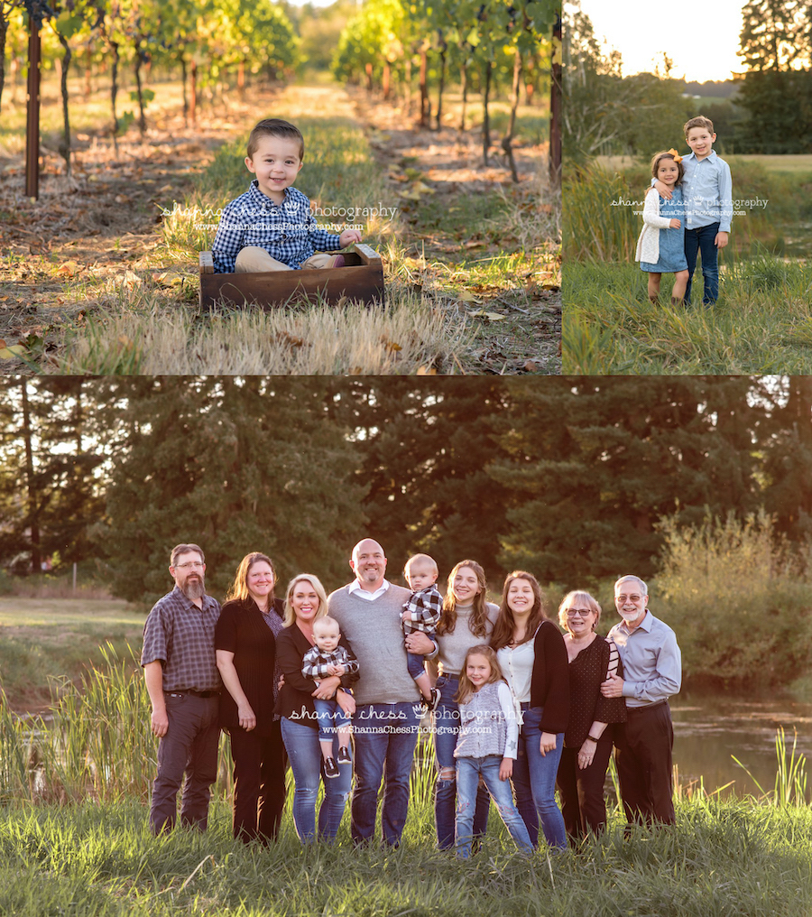 child and family portraits oregon