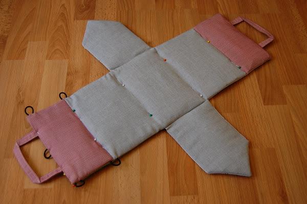 Fabric Dollhouse Bag Tutorial