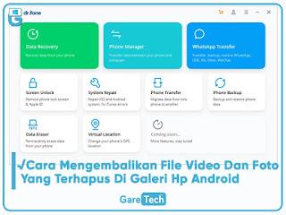 √Cara Mengembalikan File Video Dan Foto Yang Terhapus Di Galeri Hp Android