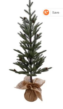 "Ashland 24"" flocked tree"