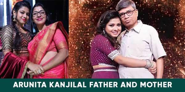 Arunita Kanjilal Father and mother images