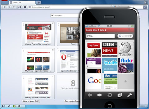 opera mini windows phone download
