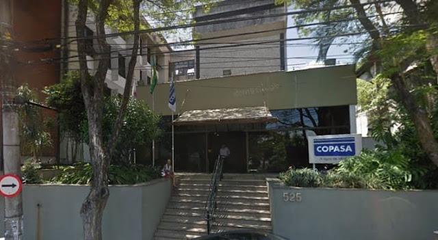 Foto da sede da Companhia de Saneamento de Minas Gerais