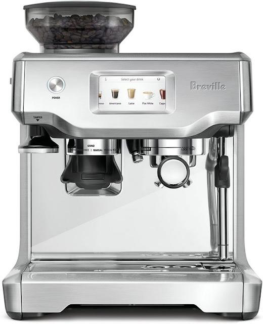 Coffee Maker With Grinder Breville - Breville Barista Touch Espresso Maker