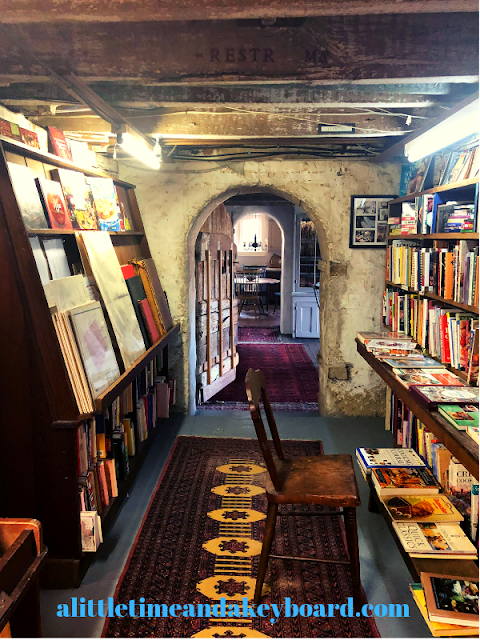 Walking through the historic doors and halls of Baldwin's Book Barn which was built in 1822 is a special treat.