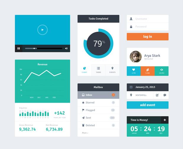 UI Style Flat Design