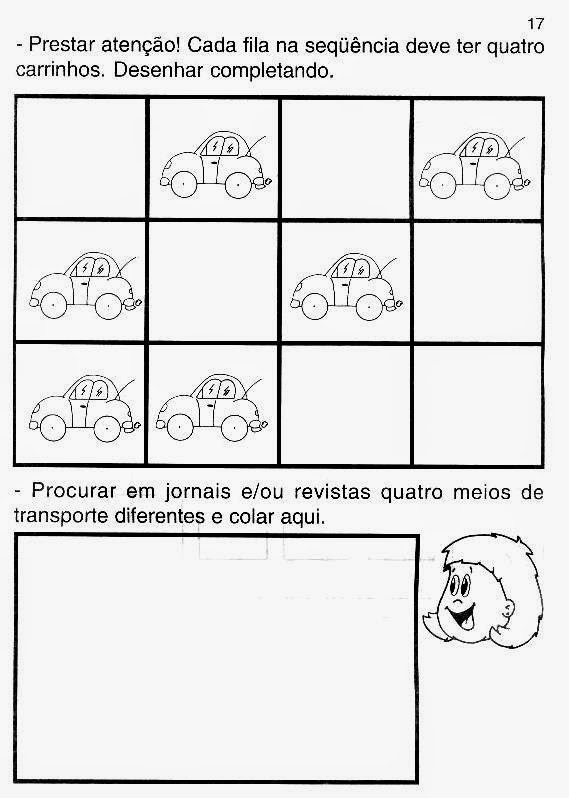 Professora Juce Projeto Meios De Transportes Para Educacao Infantil