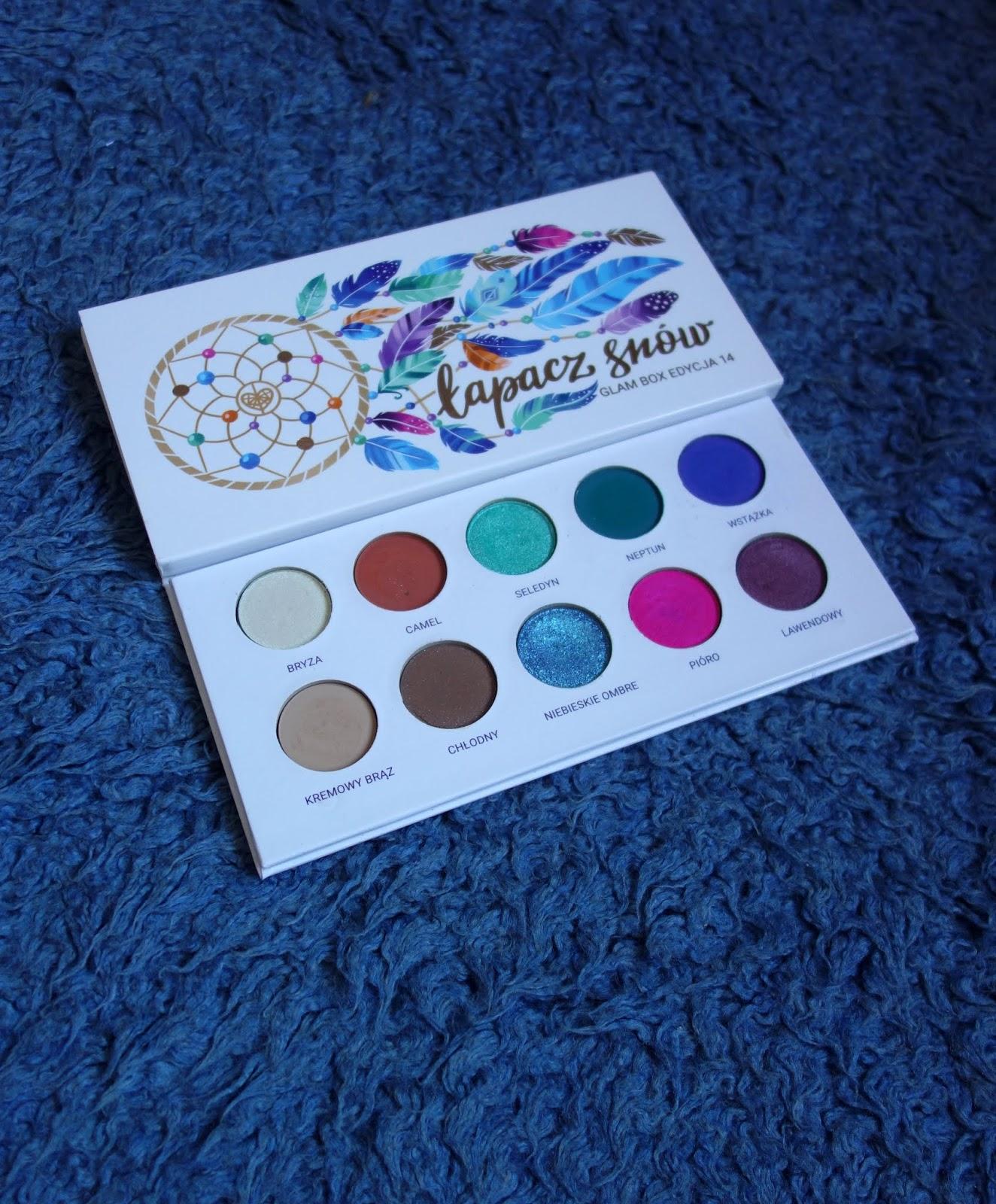 Paleta Glamshop Łapacz Snów | Glam Box edycja 14