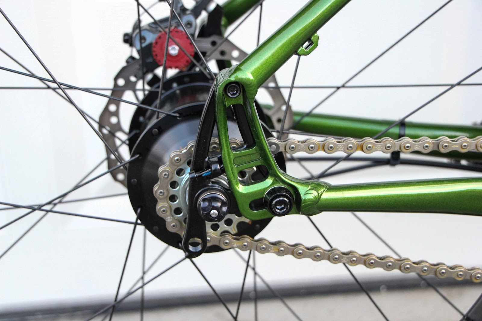 The Monkey Lab Salsa Mukluk Fat Bike With Rohloff Speedhub 500 14 Xl