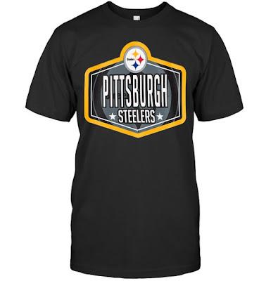 Pittsburgh Steelers New Era 2021 NFL Draft Hook T-Shirts
