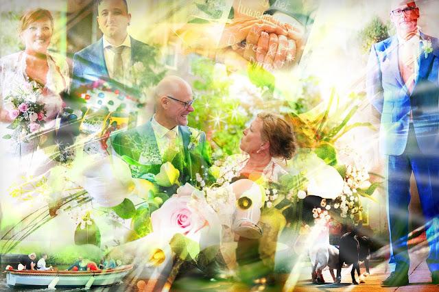 Fotocollage bruiloft laten maken