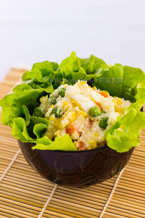 日式雞蛋薯仔沙律 Japanese Egg and Mashed Potato Salad01