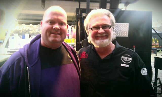 Myron Mixon from Jack's Old South and Wayne Schafer from Big Fat Daddy's