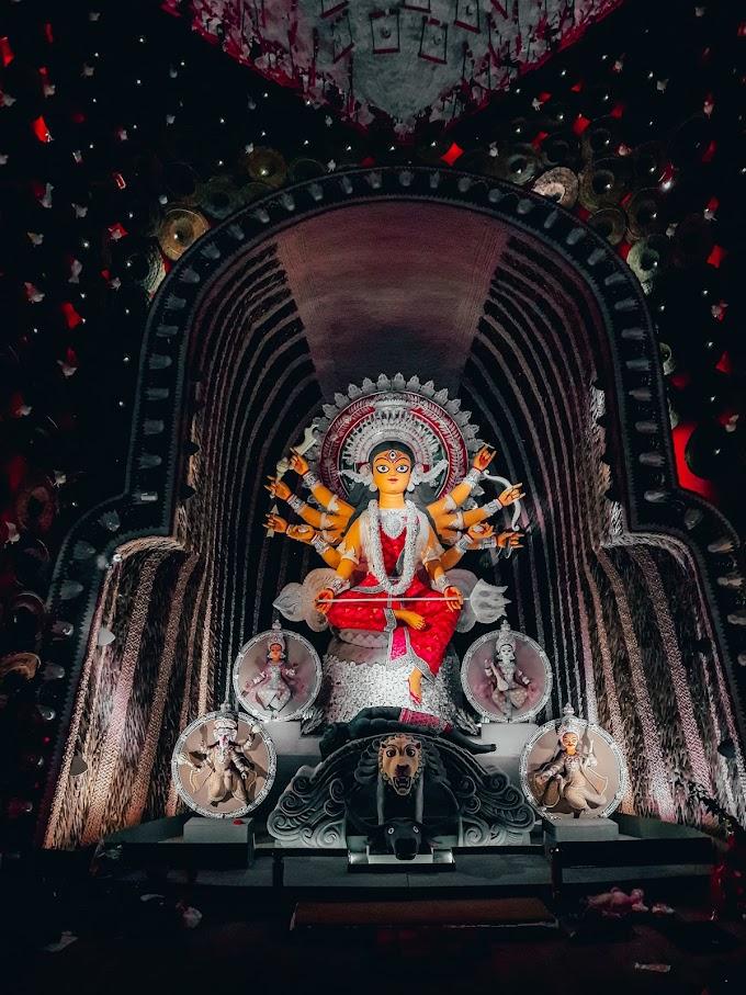 Maa Durga at Hindustan Park