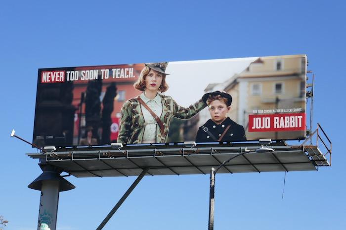 Jojo Rabbit movie billboard