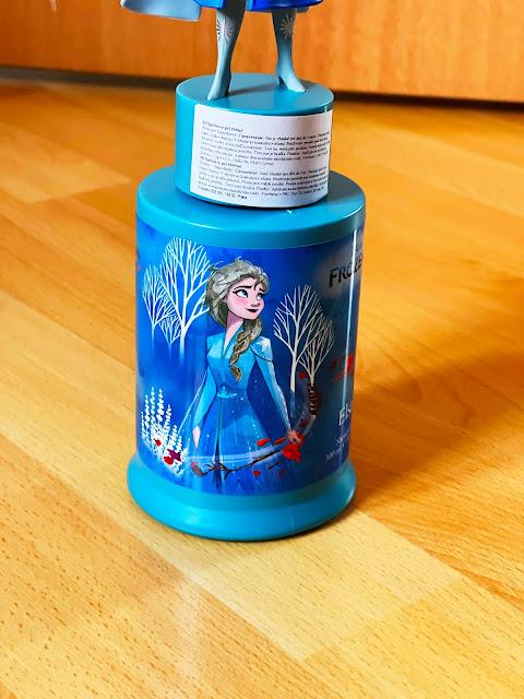 detail Elsa sprchového gélu