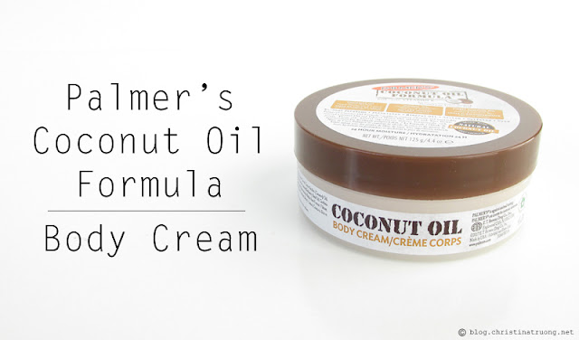 Palmer's Coconut Oil Formula Body Cream Review
