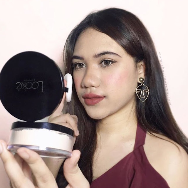 Review Looke Cosmetics The Holy Smooth and Blur Loose Powder