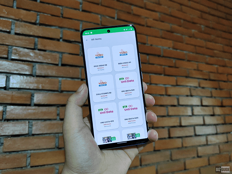 Smart intros UNLI DATA promo, redeemable via GigaPoints