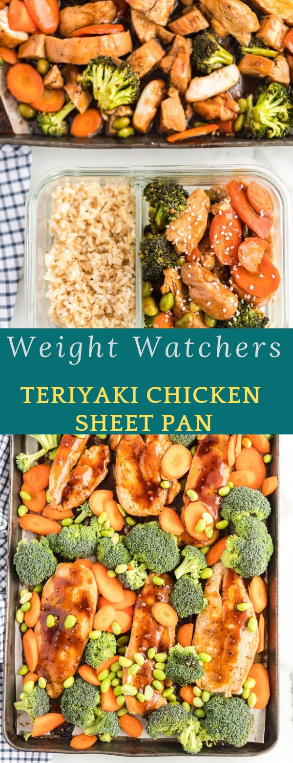 Weight Watchers Teriyaki Chicken Sheet Pan