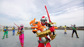 Kishiryu Sentai Ryusoulger - 20 Subtitle Indonesia and English
