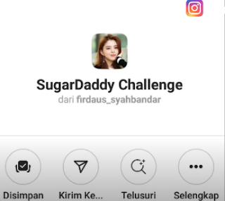Cara Mendapatkan Filter Ig Sugar Daddy Ternyata Begini