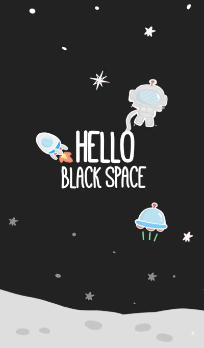 Hello Black Space