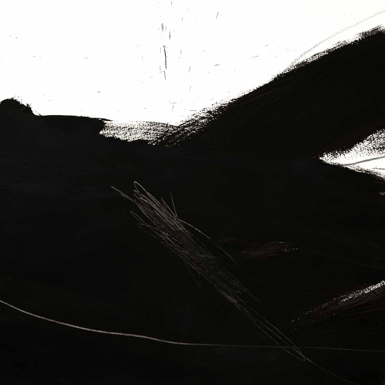 45 x 45 cm; acrylique et graphite sur papier, 23 mars 15
