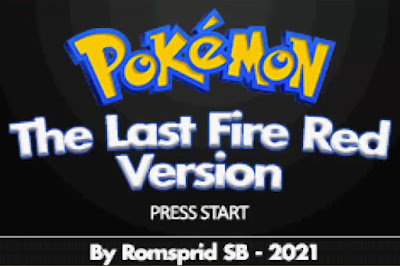 Pokemon The Last Fire Red para GBA Imagen Portada