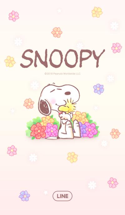 スヌーピー~ほんわかフラワー~
