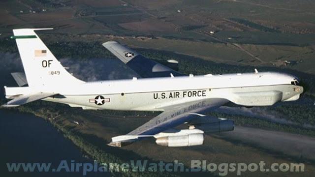 US Reconnaissance Plane Boeing RC-135 Rivet Joint