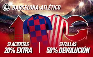sportium Promo Barcelona vs Atletico 30 junio 2020
