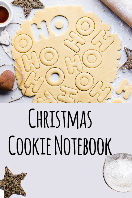 The Christmas cookie notebook
