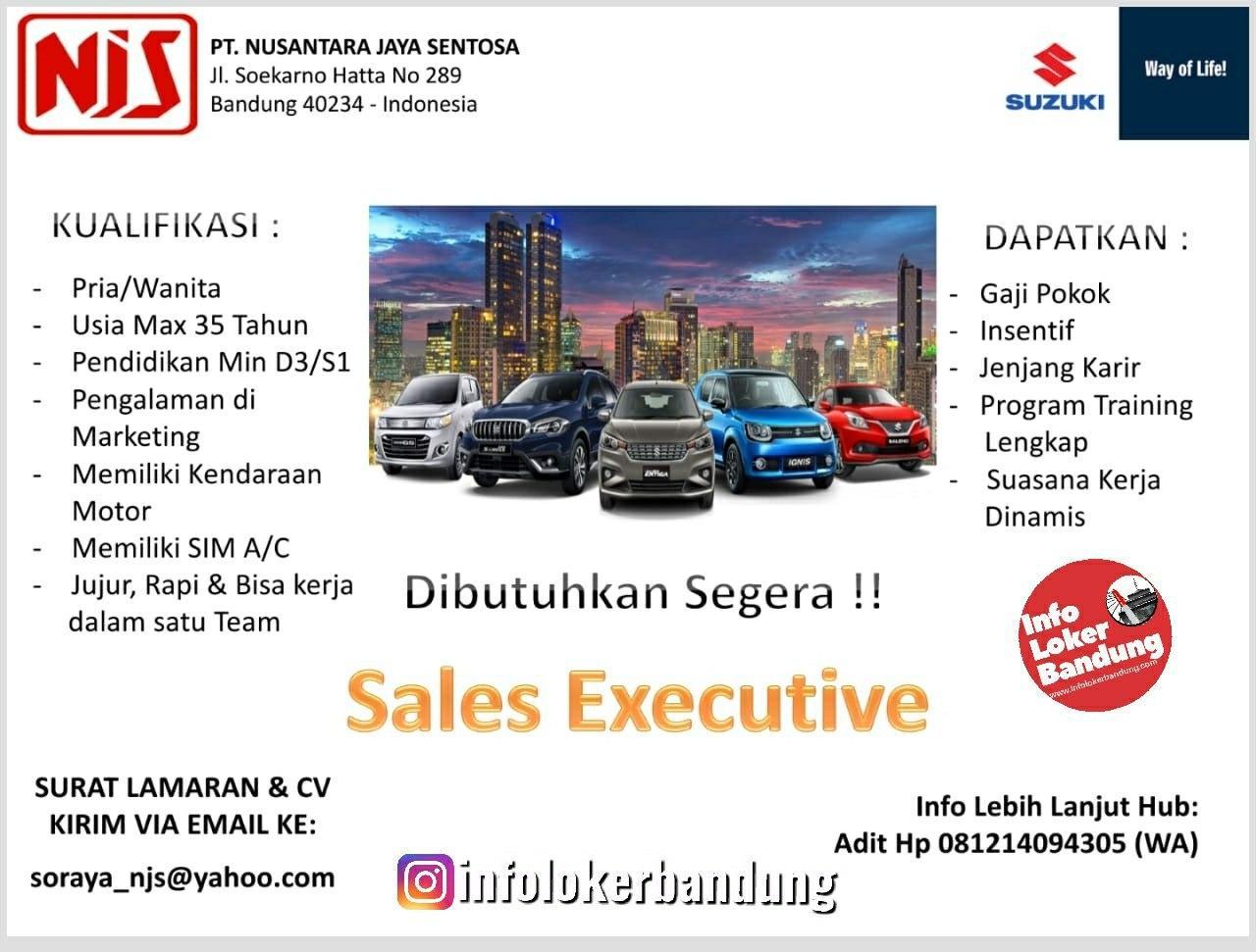 Lowongan Kerja PT. Nusantara Jaya Sentosa (NJS) Bandung Januari 2020