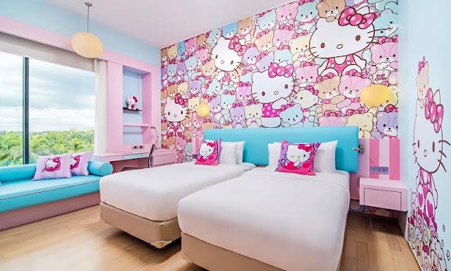 11 Tempat Menarik yang Wajib Dikunjungi Pecinta Hello Kitty