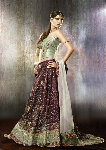 Sexy pakistani bridal dresses