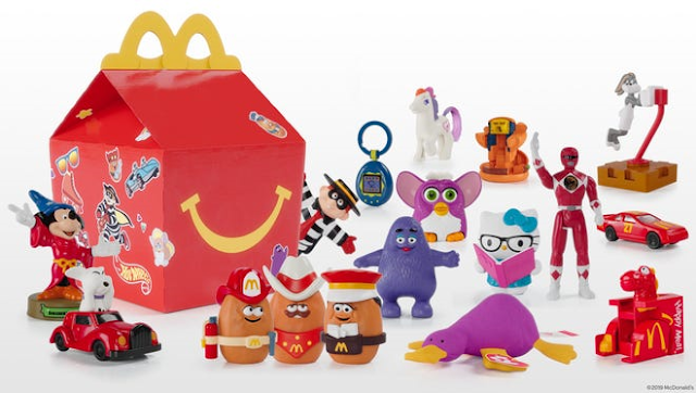 new happy meal toys