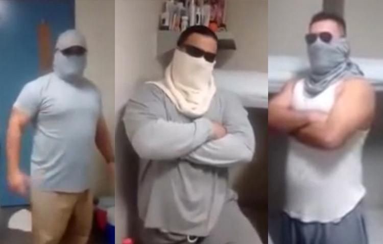 """Video """"sicarios"""" en prisión de EU le envían mensaje a El Chapo dicen que ellos lo cuidaran y que lo pueden sacar cuando el pida"""