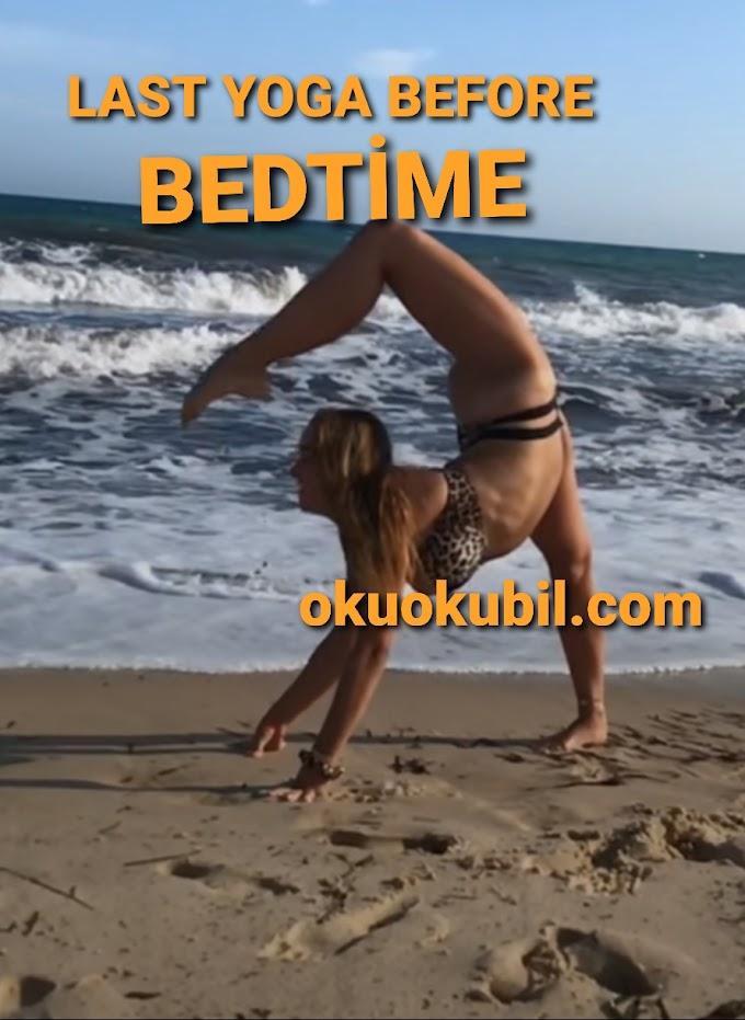 Yatmadan Önce Günün Son Yoga Hareketleri