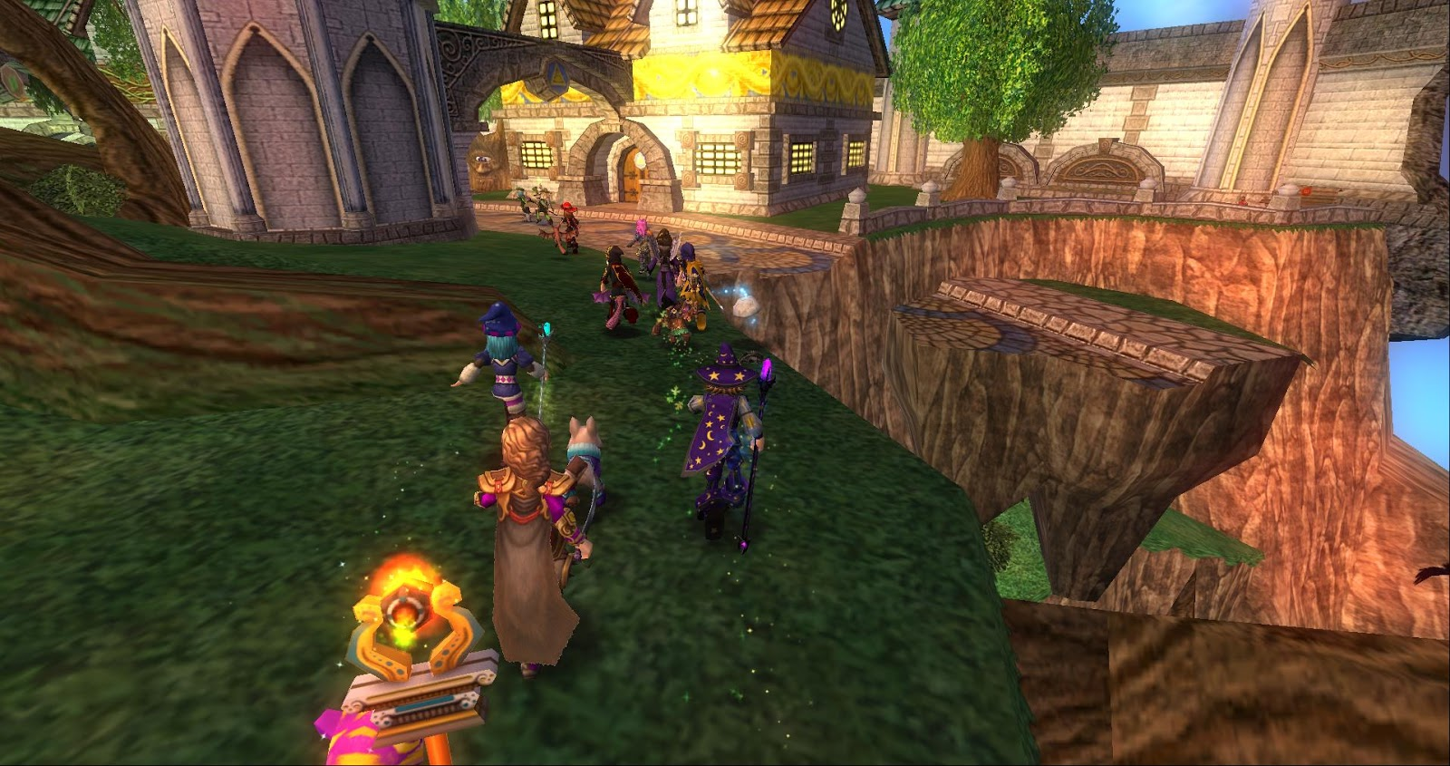 Around the Spiral with Edward Lifegem: Wizard101: Back To School
