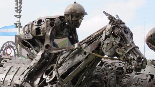 Hipódromo Argentino de Palermo Escultura en hierro