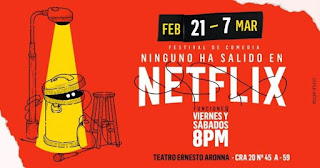 "Stand Up Comedy ""Ninguno ha salido Netflix"""