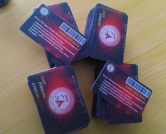 Member Card Mini Market