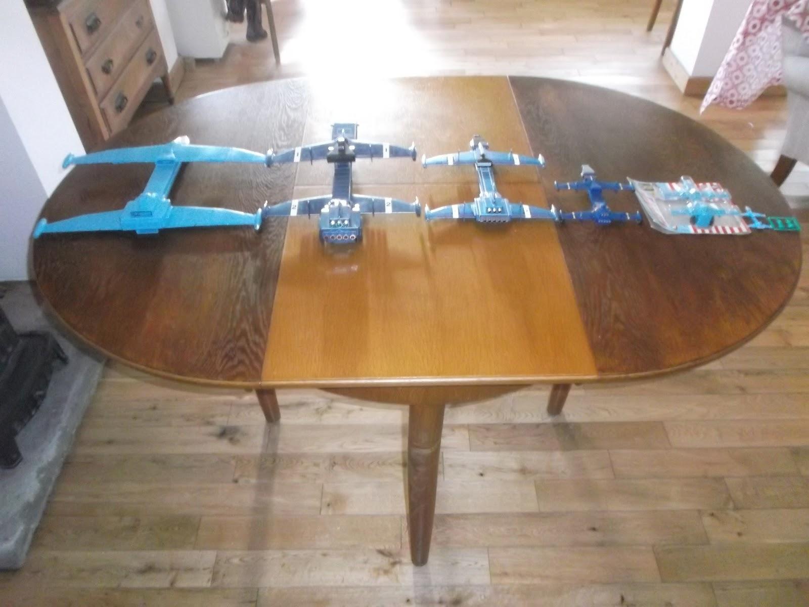 MOONBASE CENTRAL OX FLEET ZERO X DISPLAY TABLE